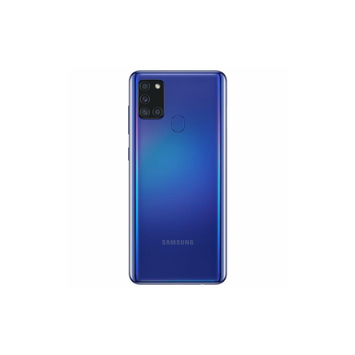 Samsung SM-A217F Galaxy A21S Dual SIM 3GB RAM 128GB kék EU