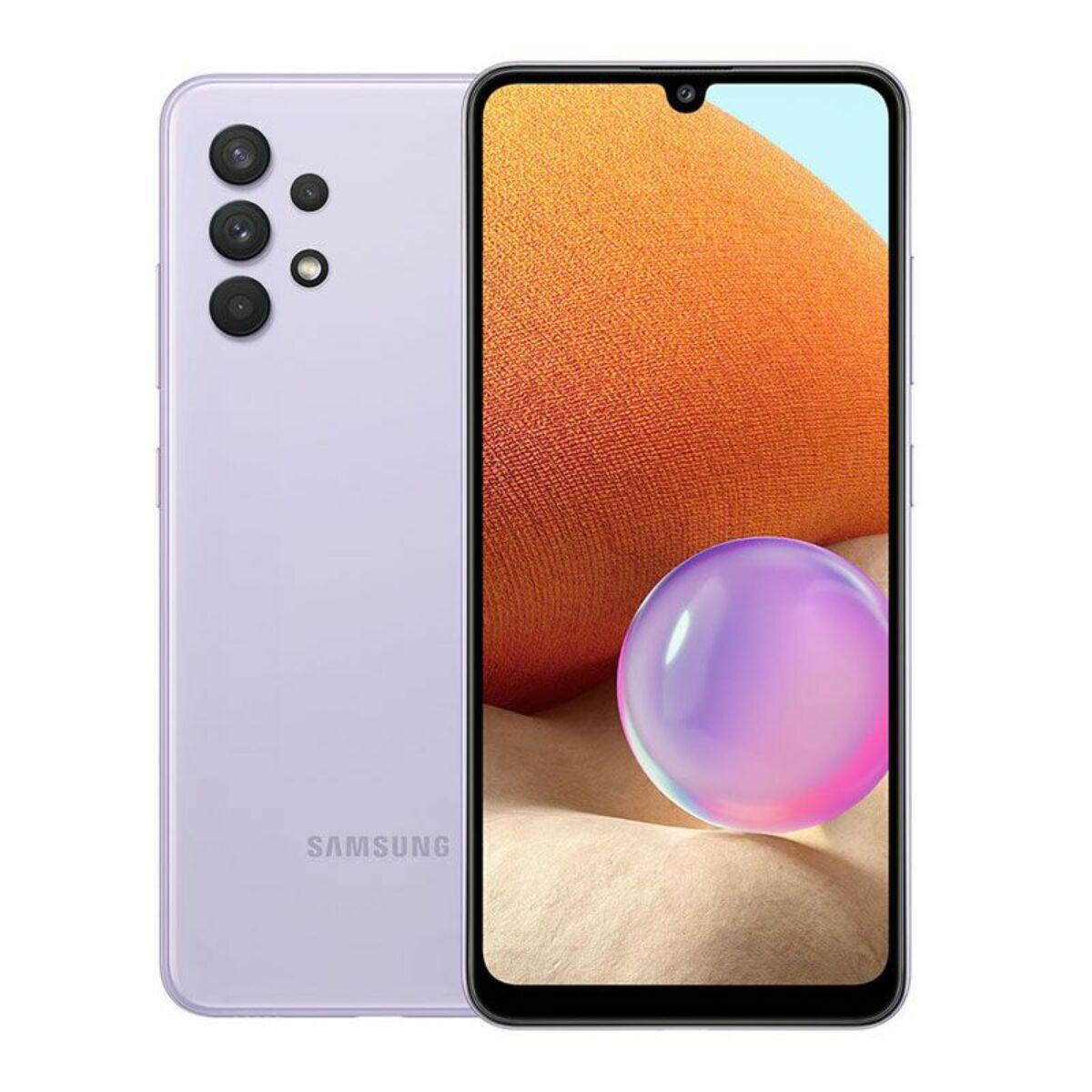Samsung SM-A325F Galaxy A32 Dual SIM 4GB RAM 128GB lila EU