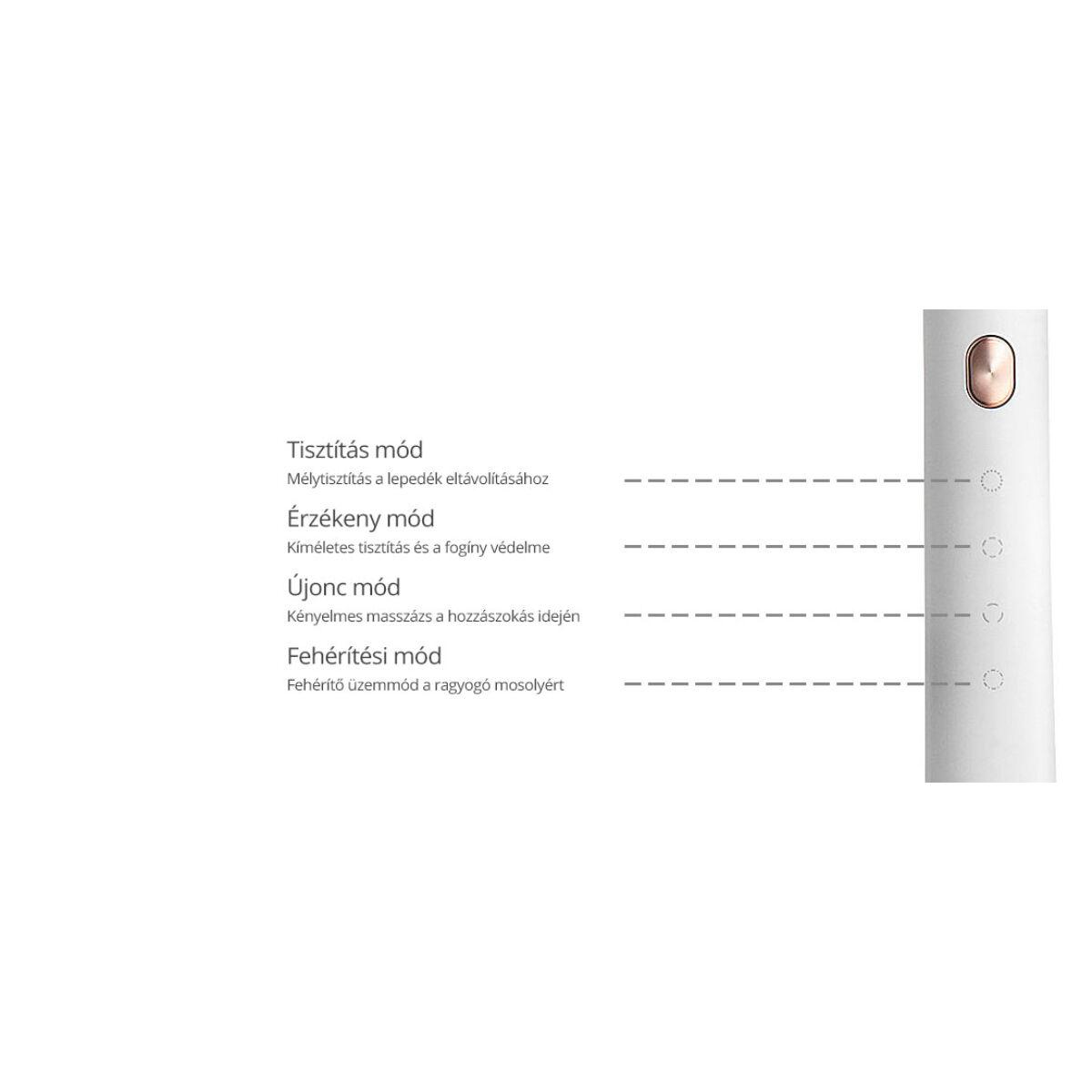 Xiaomi Soocas X3U elektromos fogkefe, fekete, EU