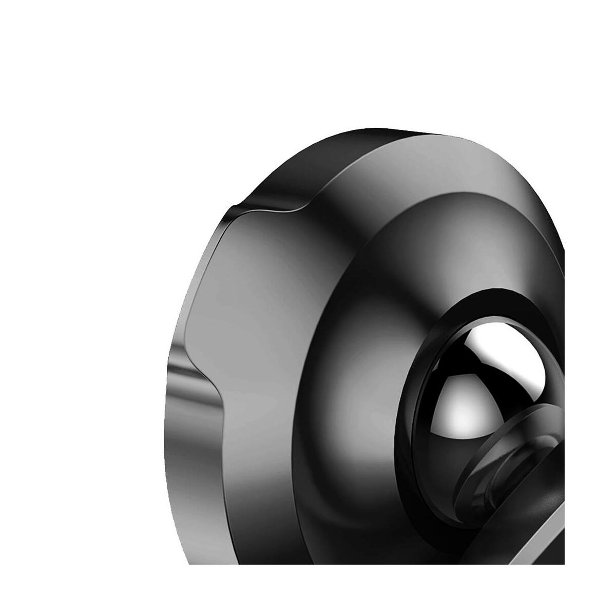 Baseus autós telefon tartó, Small ears series mágneses, szellőzőrácsra, fekete (SUER-A01)