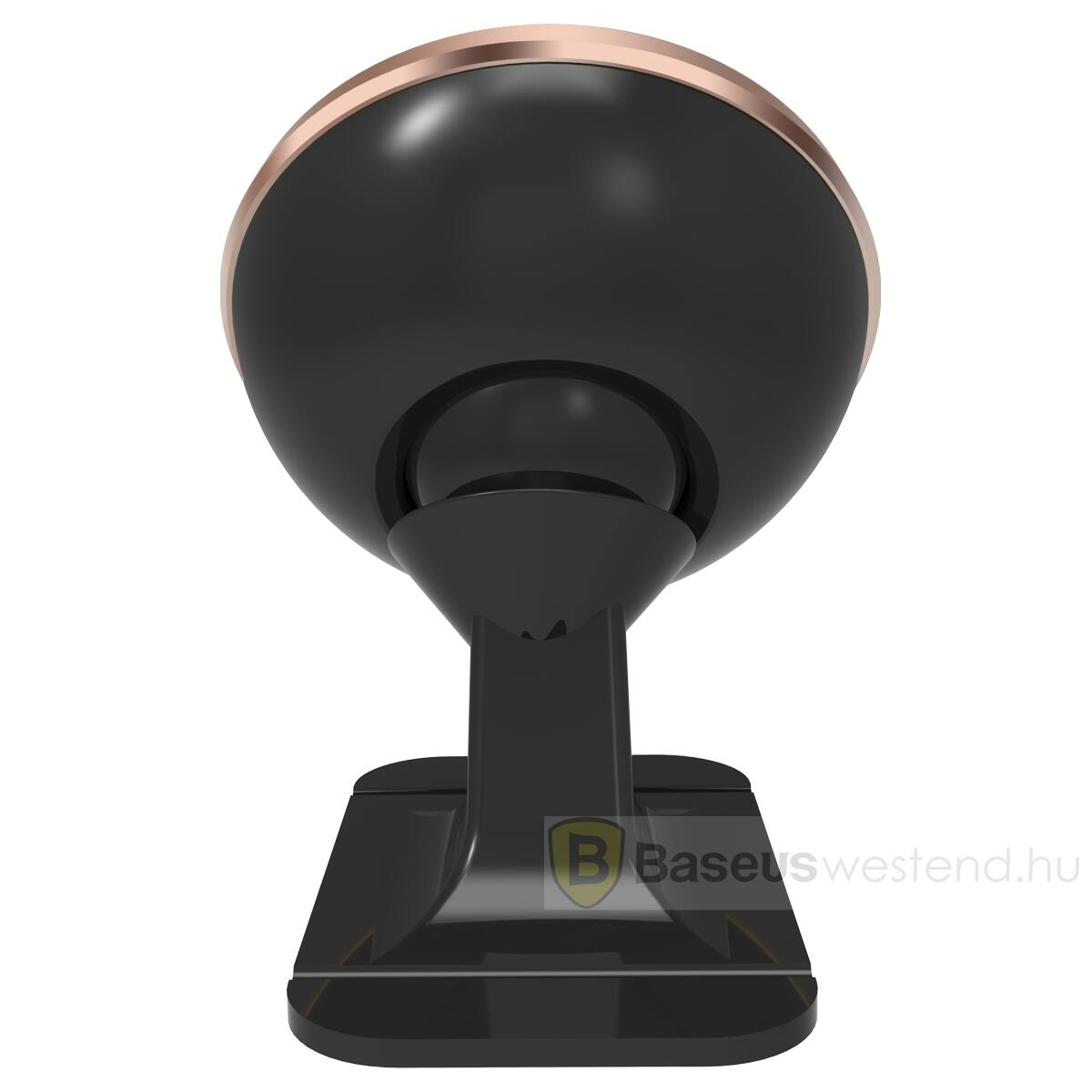 Baseus autós telefon tartó, 360 fokban forgatható, mágneses, rosé arany (SUGENT-NT0R)