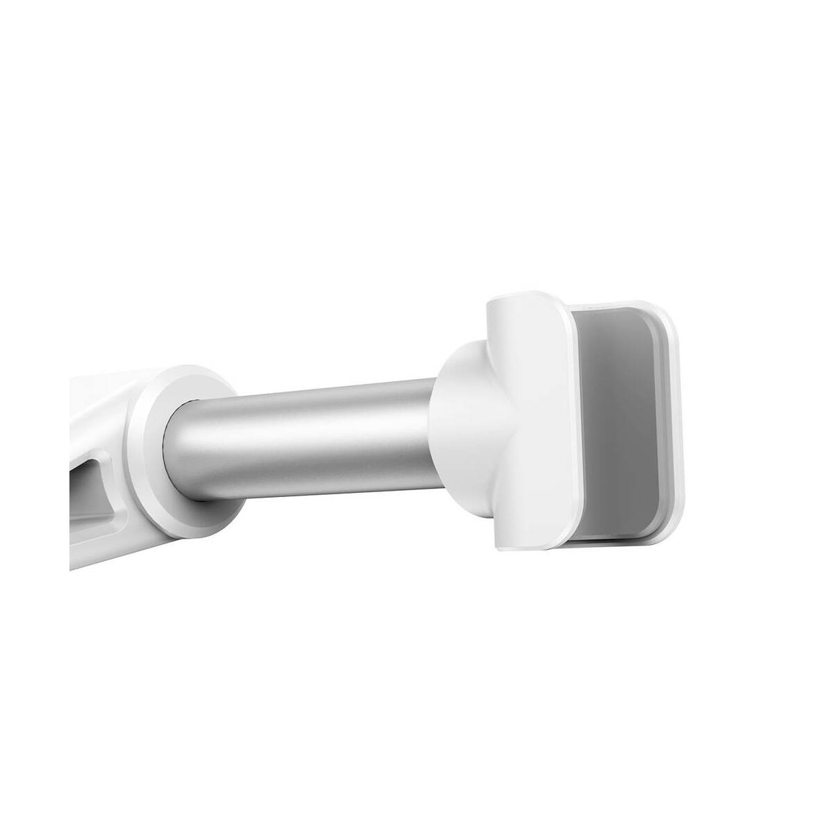 Baseus autós telefon/tablet tartó, első ülés fejtámlára, fehér/ezüst (SUHZ-2S)