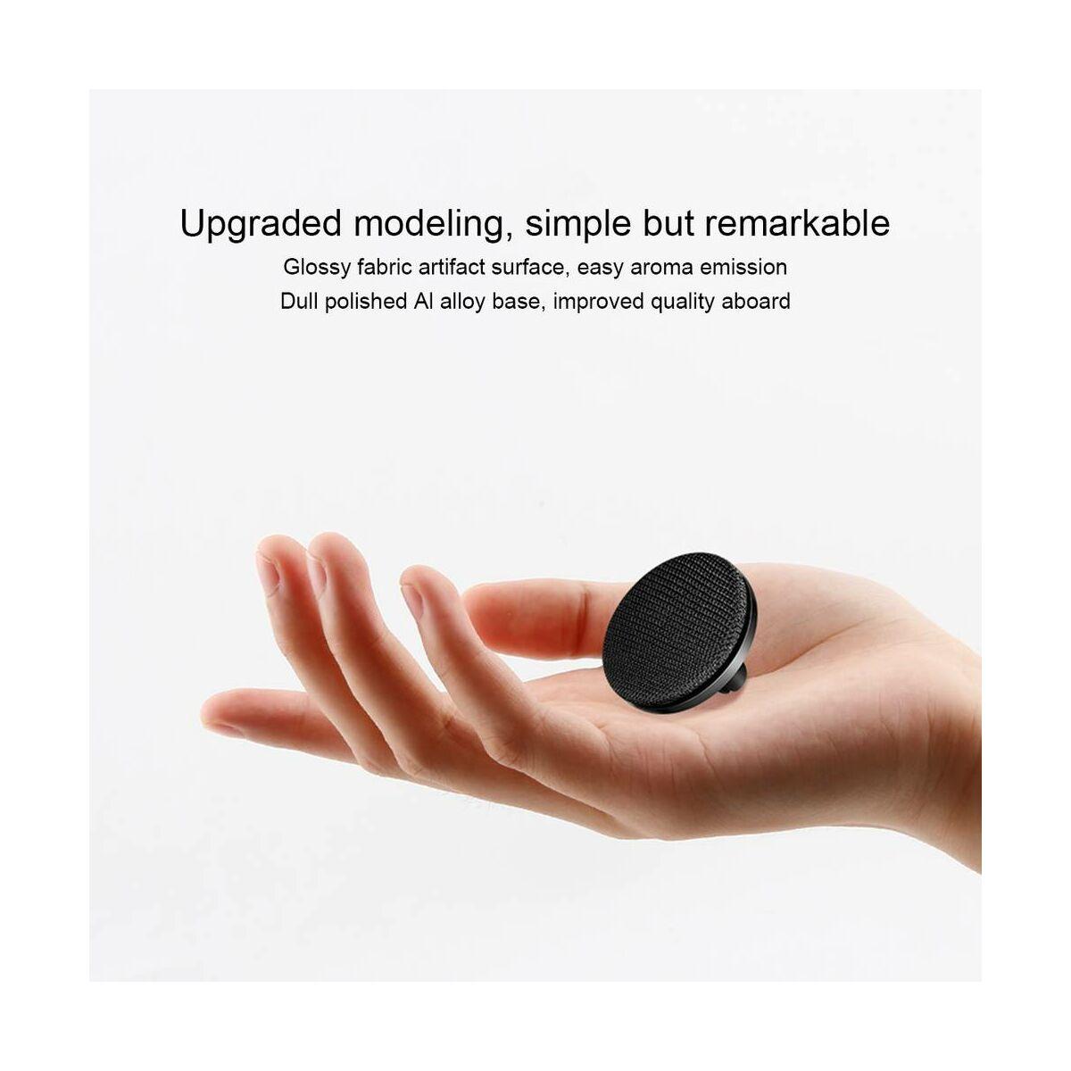 Baseus autós illatosító, Fabric Artifact, fekete (SUXUN-BY01)