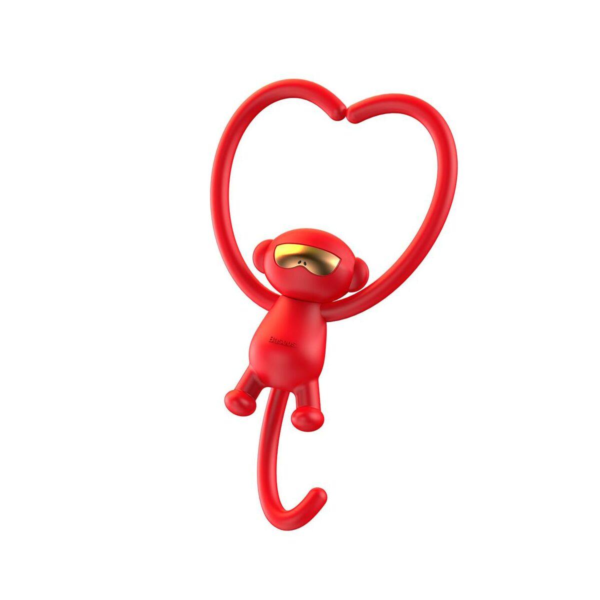 Baseus autós illatosító, Monkey-Shaped, piros (SUXUN-MK09)