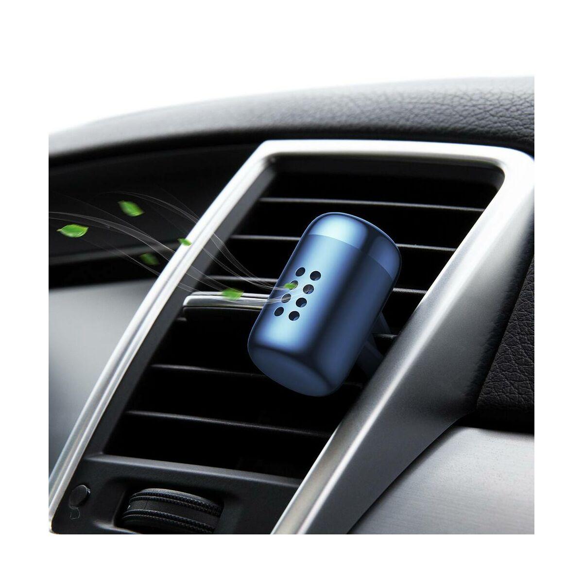 Baseus autós illatosító, Little Fatty, 7db-os parfümmel, kék (SUXUN-PDA03)
