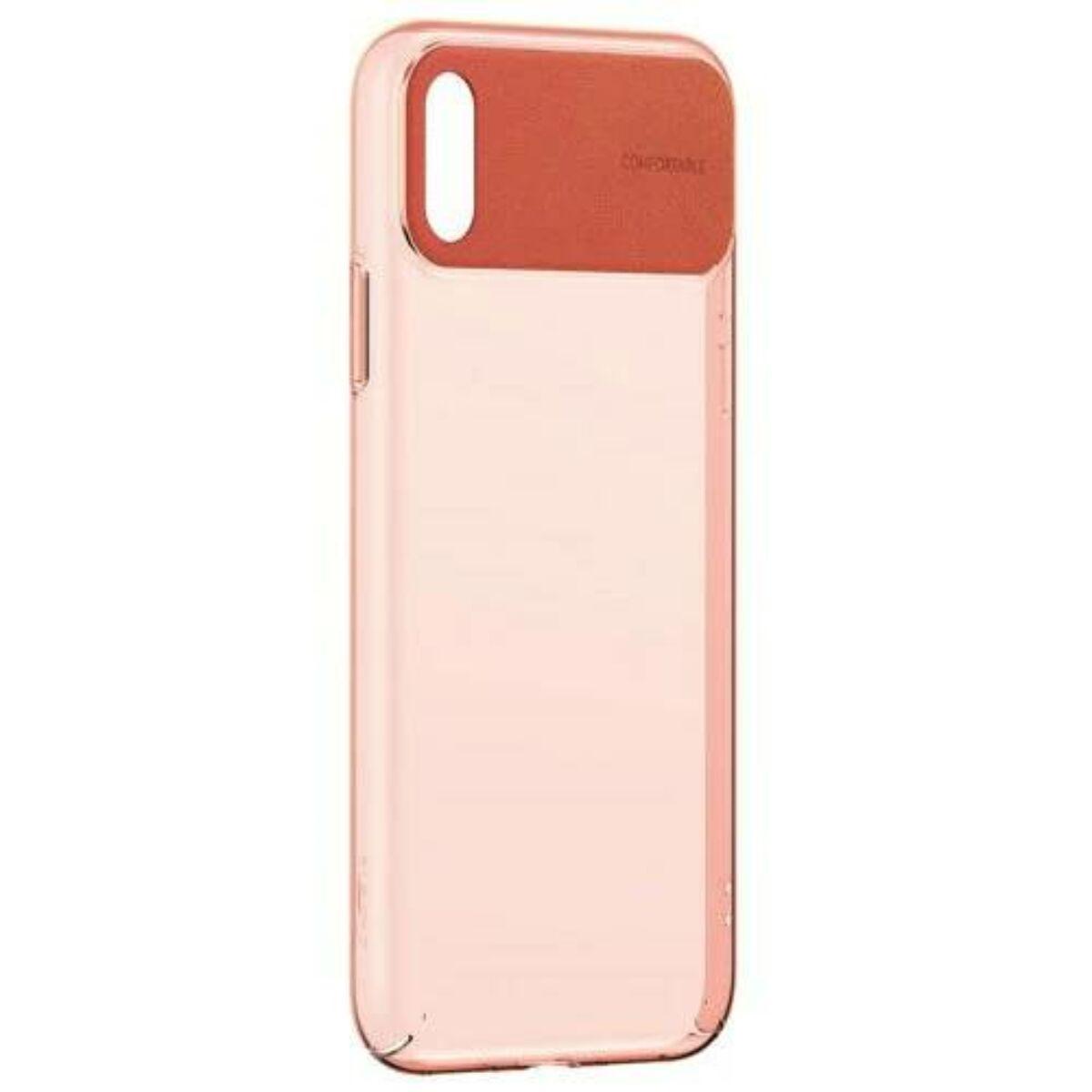 Baseus iPhone XS tok, Comfortable, narancssárga (WIAPIPH58-SS07)