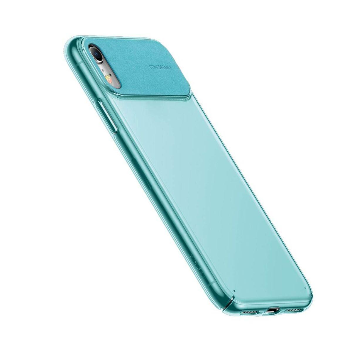 Baseus iPhone XS tok, Comfortable, cián (WIAPIPH58-SS13)