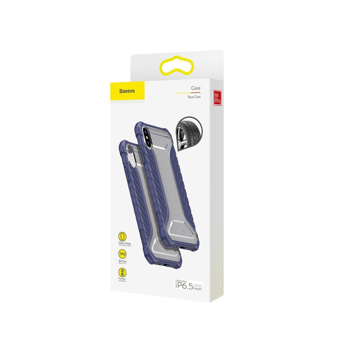 Baseus iPhone XS Max tok, Michelin, kék (WIAPIPH65-MK03)