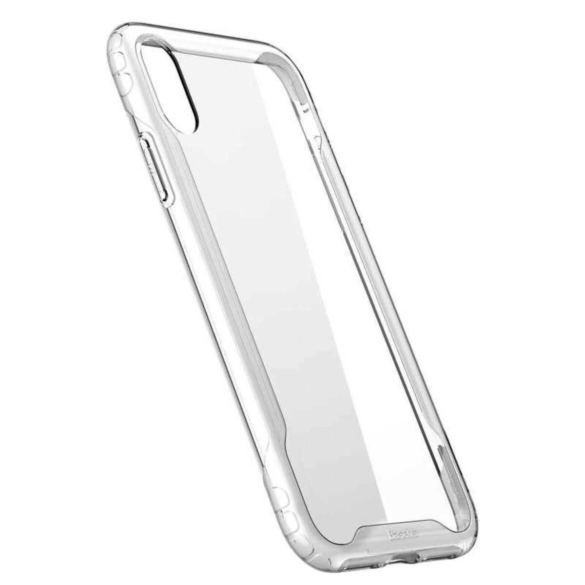 Baseus iPhone XS Max tok, Armor, fehér (WIAPIPH65-YJ02)
