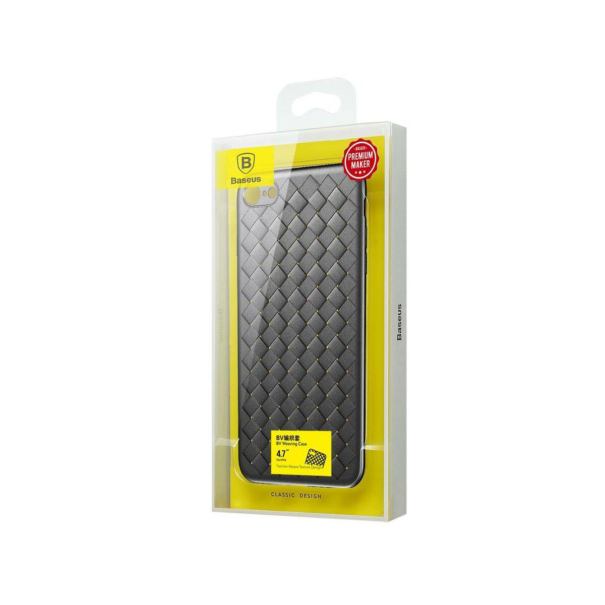 Baseus iPhone 6/6s tok, BV Weaving, fekete (WIAPIPH6S-BV01)