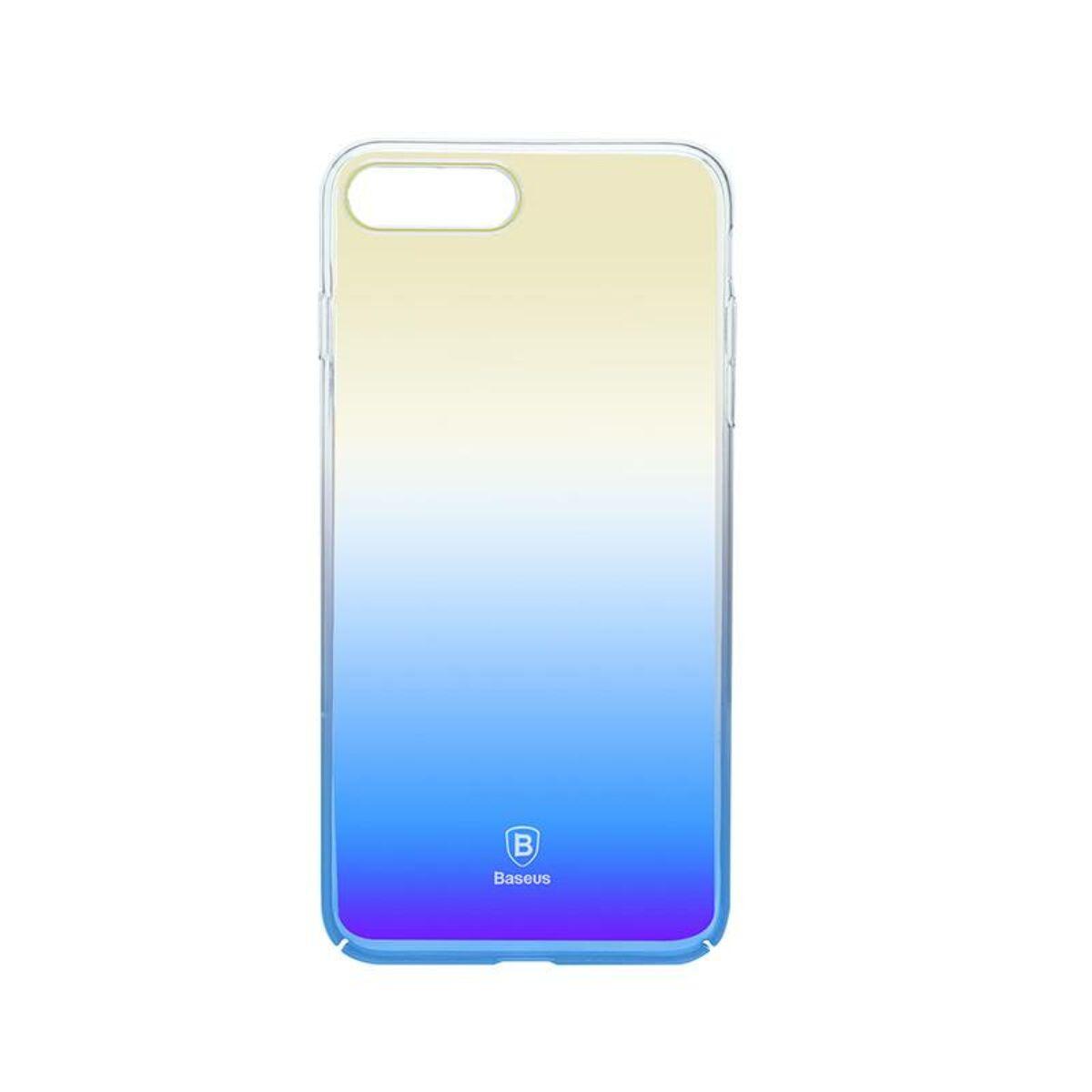 Baseus iPhone 8/7 Plus tok, Glaze, kék (WIAPIPH7P-GC03)