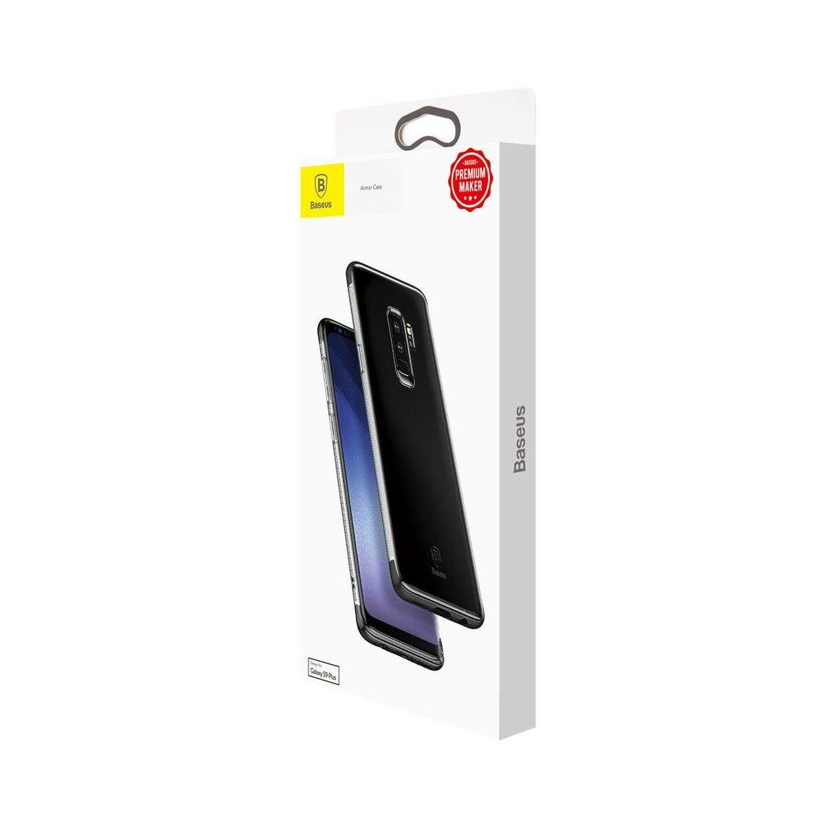 Baseus Samsung S9 Plus tok, Armor, fekete (WISAS9P-YJ01)