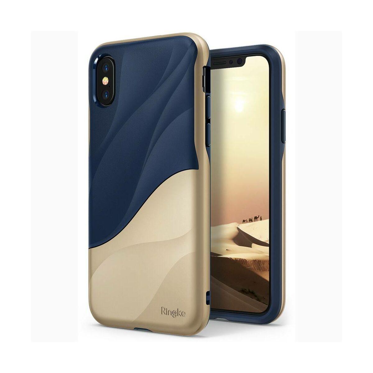 Ringke iPhone X/XS tok, Wave, arany
