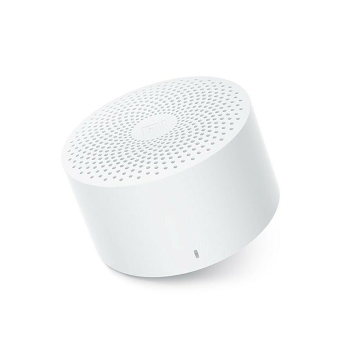 Xiaomi Mi Compact Bluetooth Speaker 2, hordozható hangszóró, fehér, EU, QBH4141EU
