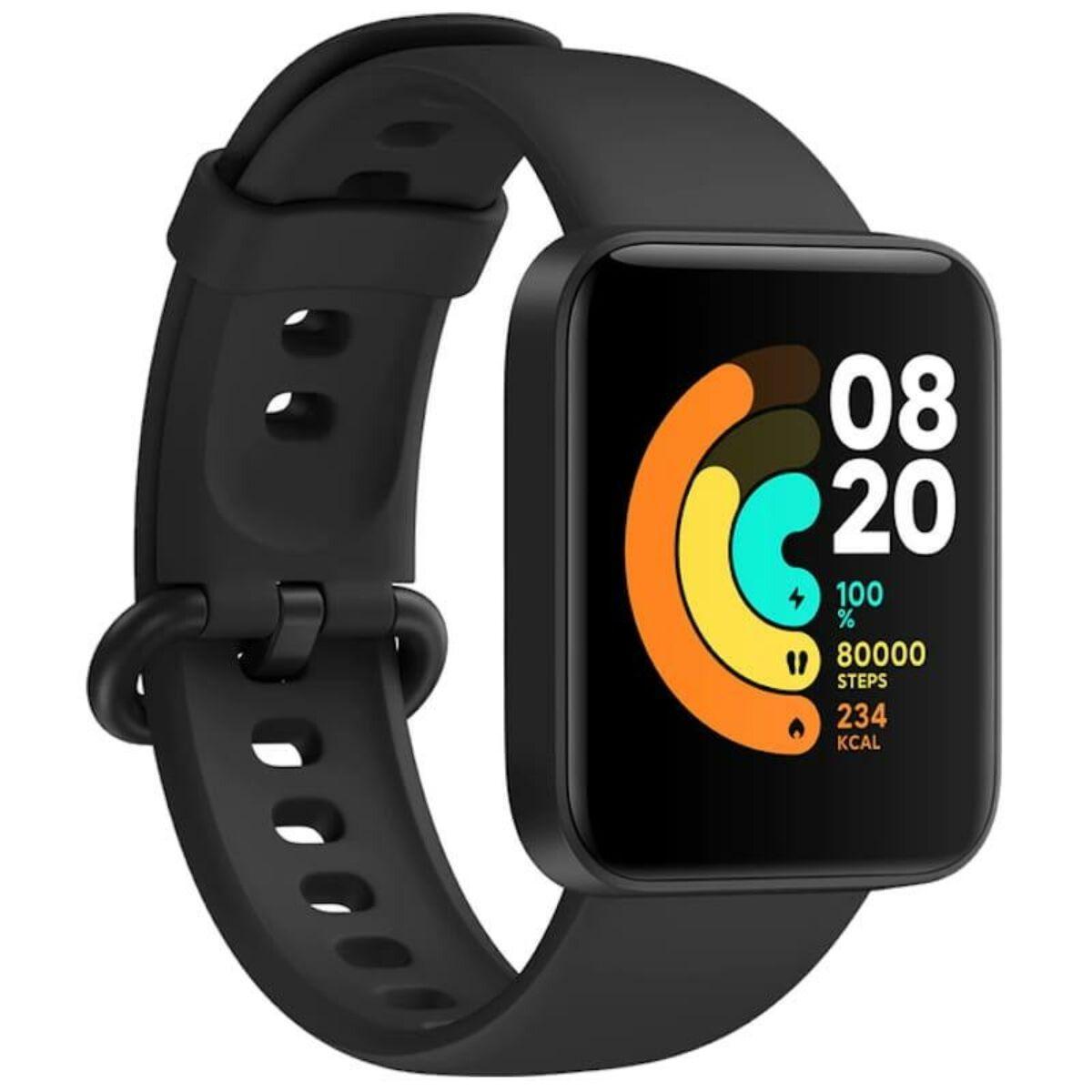 Xiaomi Mi Watch Lite okosóra, fekete EU