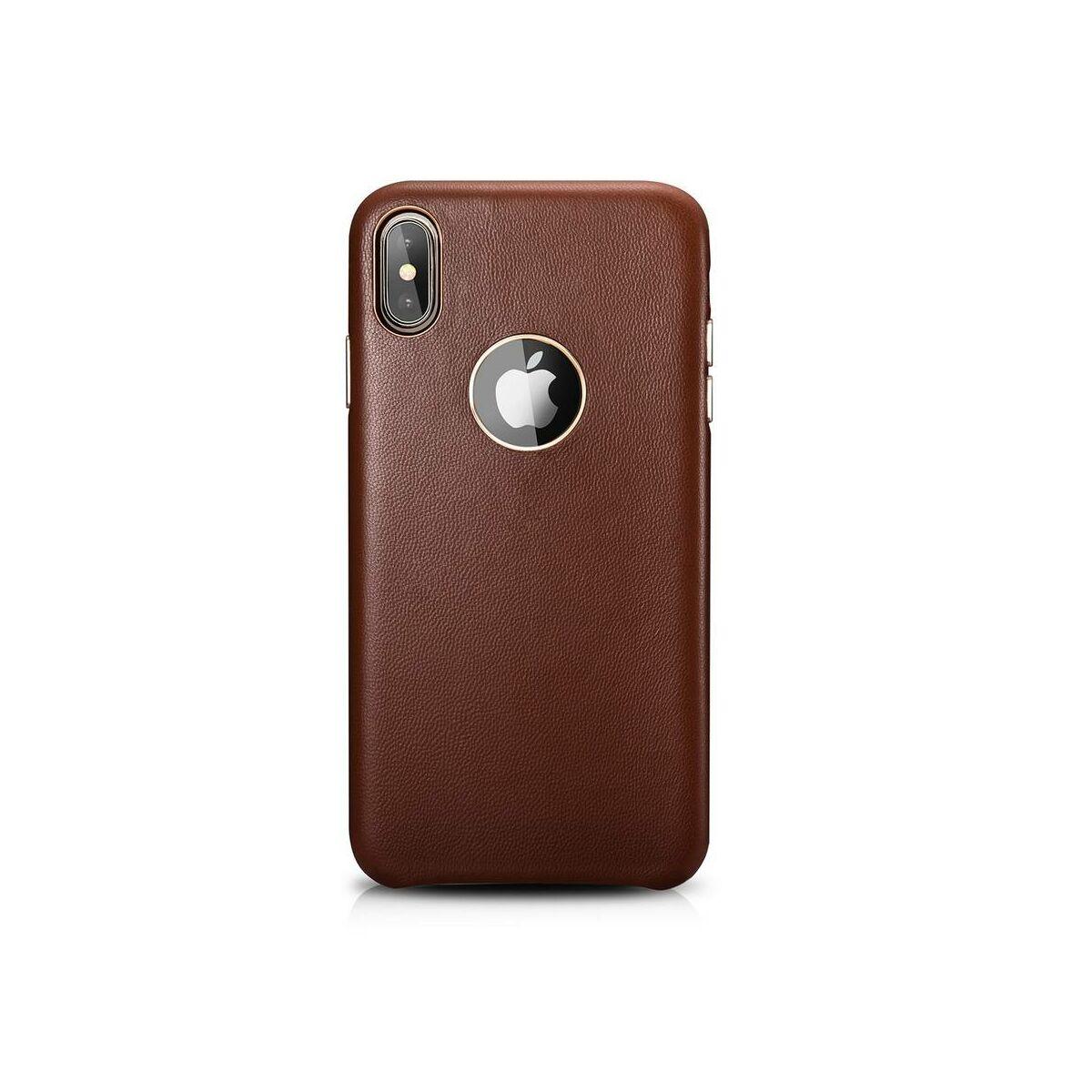 XOOMZ  iPhone XS Max Tok, Valódi Bárány Bőr barna