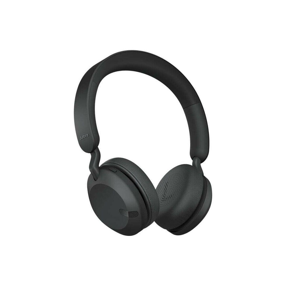 Jabra Elite 45h Bluetooth fejhallgató, fekete EU