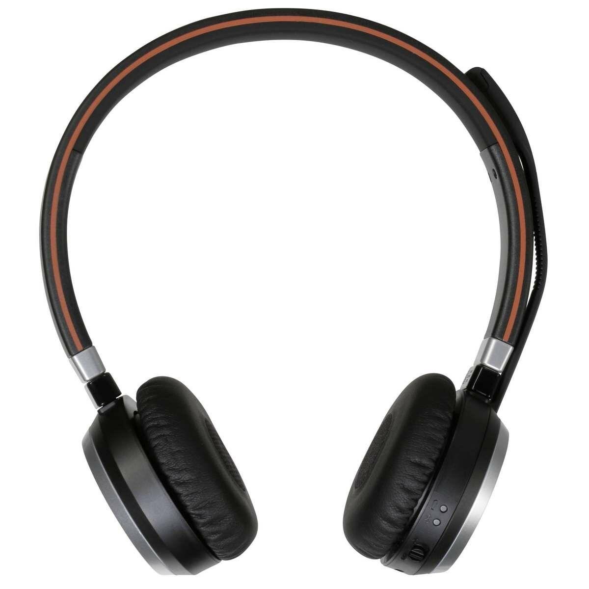 Jabra Evolve 65 UC Stereo fejhallgató, fekete EU