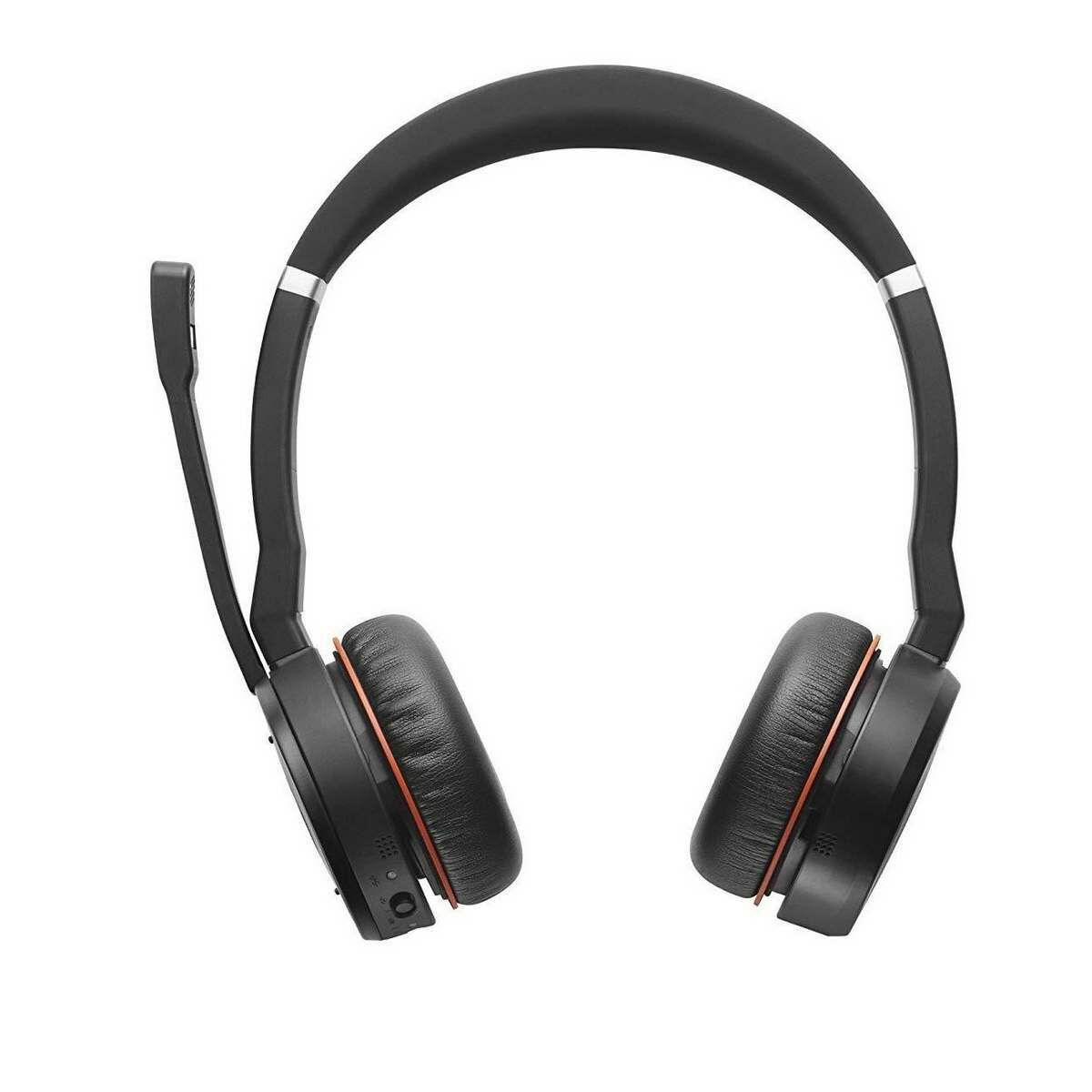 Jabra Evolve 75 UC Stereo fejhallgató, fekete EU