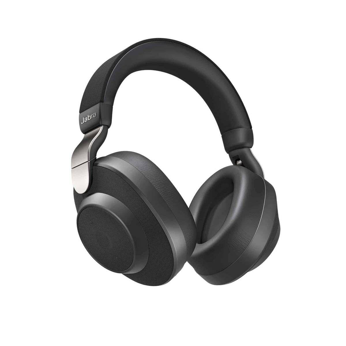 Jabra Elite 85h vezeték nélküli fejhallgató ANC, titánium fekete EU