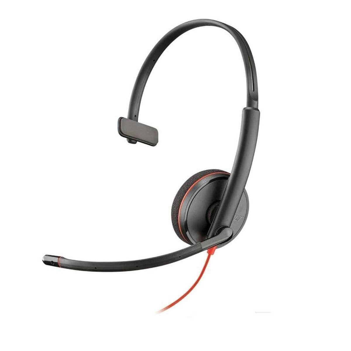 Plantronics Headset Blackwire C3210 USB-A fekete EU