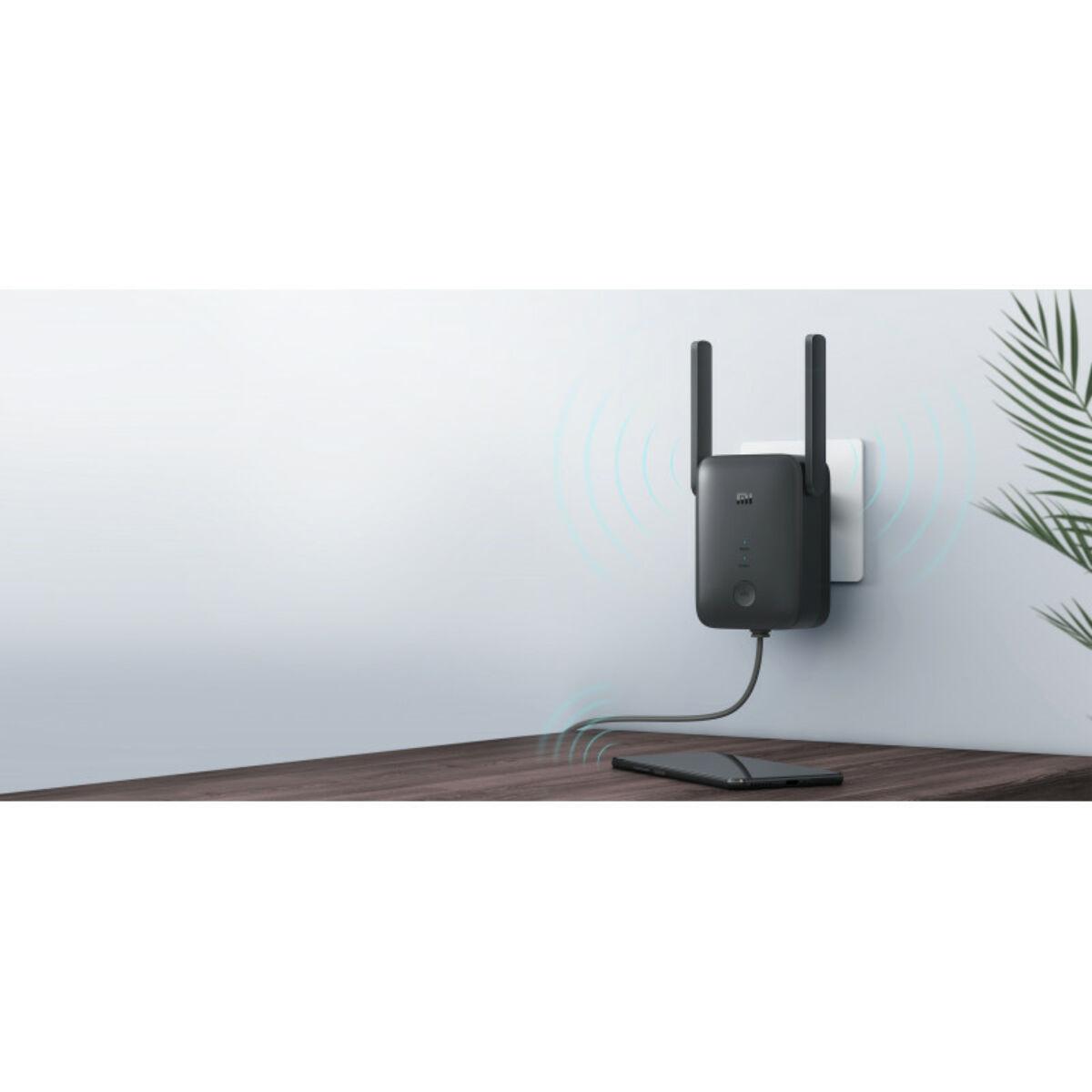 Xiaomi Mi Wi-Fi Range Extender AC1200 jelerősítő, fekete  EU DVB4270GL