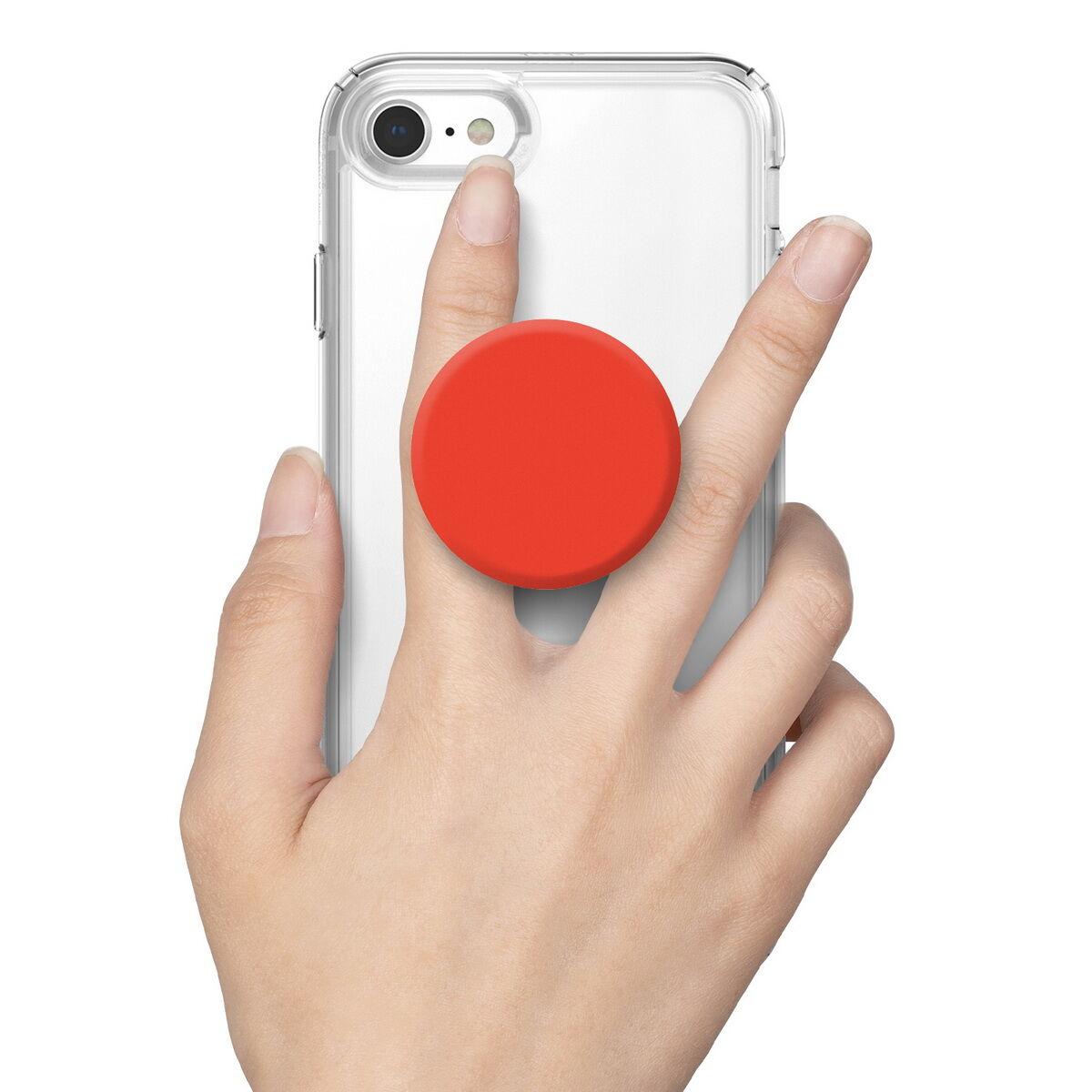 Rinkge telefontartó telefon hátlapra, Griptok, Piros