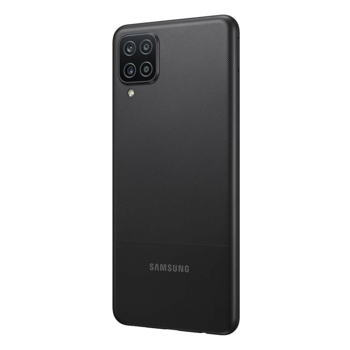Samsung SM-A127F Galaxy A12 Dual SIM 3GB RAM 32GB, fekete EU