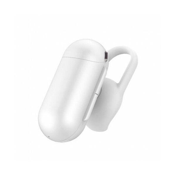 QCY-Q12 Bluetooth 5.0 Mini, fülhallgató mikrofonnal, fehér
