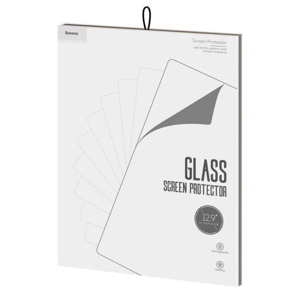 """Baseus iPad 12.9"""" Pro 0.3 mm, kékfény szűrős edzett üveg kijelzővédő fólia, átlátszó (SGAPIPD-BX02)"""