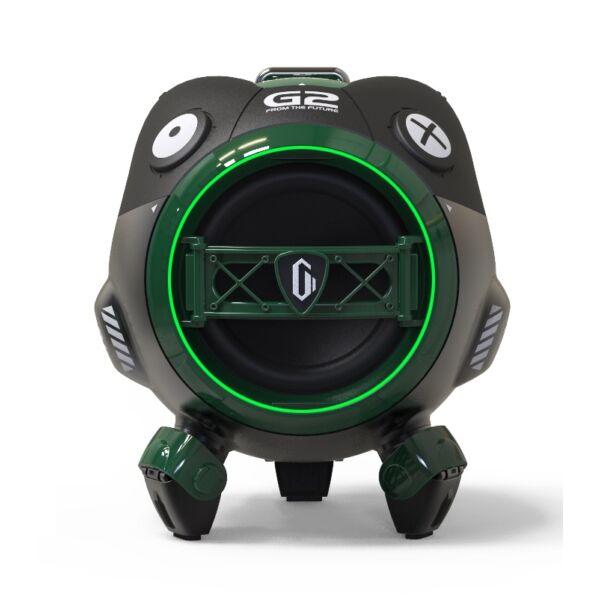 Gravastar hordozható hangszóró, Venus, Bluetooth 5.0, 10W, zöld EU
